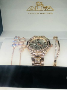 Used Alfa brand combo watch and braceltes in Dubai, UAE