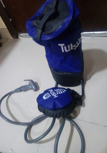 Used Portable inflatable shower brand new in Dubai, UAE