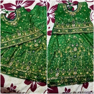 Used Gagra choli size 5 to 6 year in Dubai, UAE
