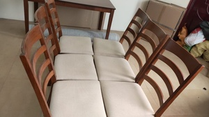 Used Dining  set 1 table 6 chair in Dubai, UAE