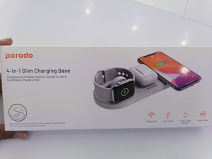 Used Porodo 4 in 1 slim charging base in Dubai, UAE