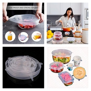 Used Silicone Cover Fresh Food 6 Sizes in Dubai, UAE