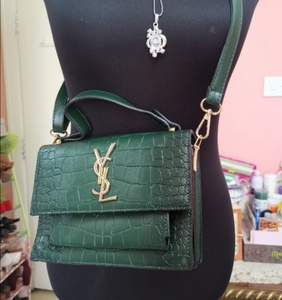 Used Ysl two tones shoulder bag in Dubai, UAE