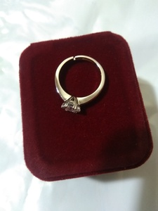 Used diamond/silver ring in Dubai, UAE