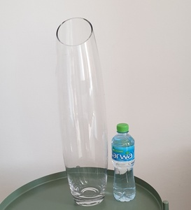 Used Vase clear glass in Dubai, UAE