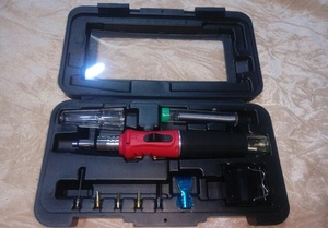 Used Cordless butane soldering iron&blow torc in Dubai, UAE