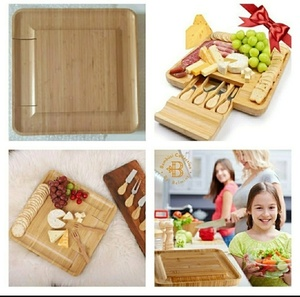 Used Bamboo Cheese Board New.. in Dubai, UAE