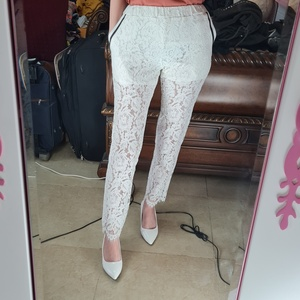 Used Inner panties partly mesh white trousers in Dubai, UAE