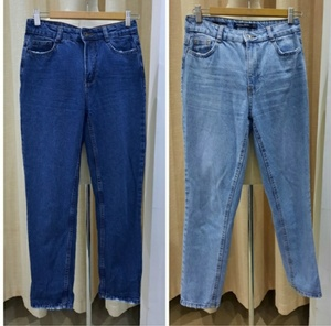 Used Bershka mom jeans 2 pairs in Dubai, UAE