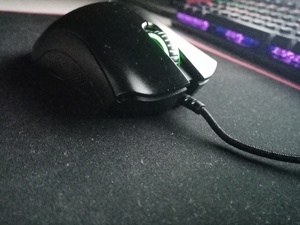 Used Razer deathadder essential gaming mouse in Dubai, UAE