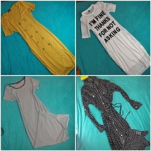 Used 4 dresses bundle (4 items) in Dubai, UAE