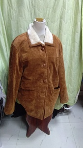 Used Suede jacket size 44 in Dubai, UAE