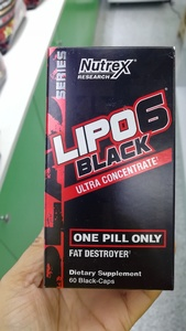 Used Nutrex Lipo6 Black 60 Capsules in Dubai, UAE