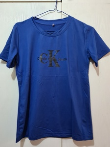 Used Brand new Tshirt royal blue color size S in Dubai, UAE