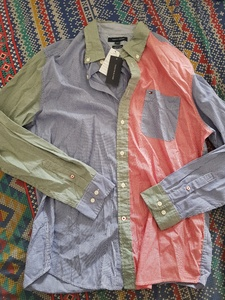 Used Tommy Hilfiger casual shirt (original) in Dubai, UAE