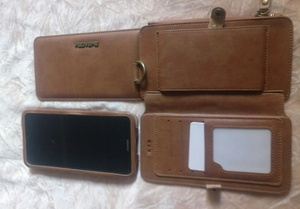 Used Luxury retro iPhone case wallet brand ne in Dubai, UAE