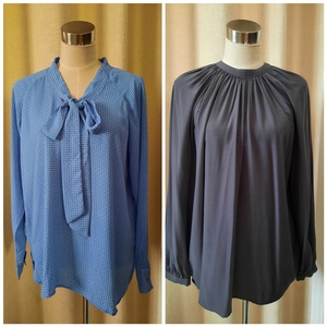Used LOFT & M&S blouses (M) in Dubai, UAE