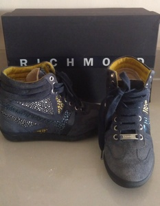 Used John Richmond suede shoes in Dubai, UAE