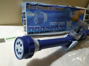 Used Eight in One Spray Water Cannon blue in Dubai, UAE
