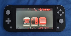 Used Unpatched switch lite 400gb in Dubai, UAE