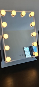 Used Mirror with LED light bulbs in Dubai, UAE