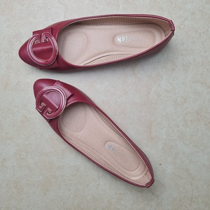 Used Red comfortable & breathy eur 39 flats in Dubai, UAE