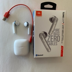 Used JBL Tune 220 Wireless Earbuds White in Dubai, UAE