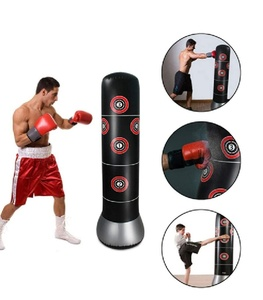 Used inflatable vertical boxing.black in Dubai, UAE