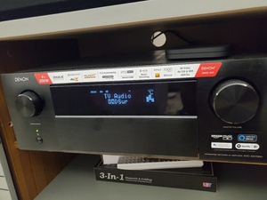 Used Denon 8k 4700 receiver and Definitive Ho in Dubai, UAE
