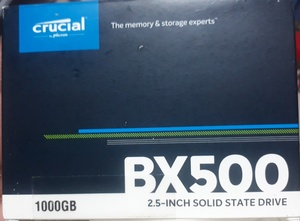 Used crucial bx500 1tb in Dubai, UAE