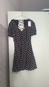 Used Bershka brand new ditsy print dress in Dubai, UAE