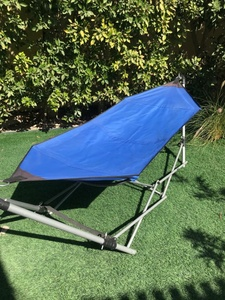 Used Hammock, blue , new, needs stitching in Dubai, UAE