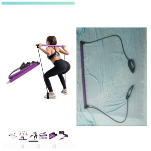 Used Yoga resistance band Pilates stick in Dubai, UAE
