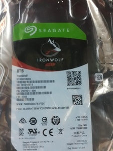 Used Seagate IronWolf 8TB Sata Hard Drive in Dubai, UAE