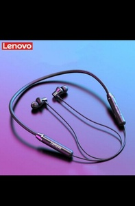 Used LENOVO EARPHONES BRAND NEW DEAL💜 in Dubai, UAE