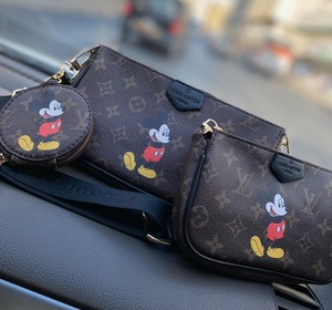 Used Lv 3 bag set in Dubai, UAE