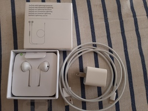 Used Get Used orginal Apple charger Free Earp in Dubai, UAE