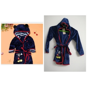 Used Boys Girls Cartoon Bathrobe Soft Coral in Dubai, UAE