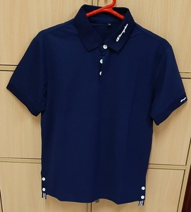 Used NAVY BLUE  T shirt for him in M size ! in Dubai, UAE