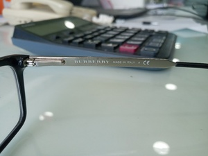 Used Burberry original glasses in Dubai, UAE