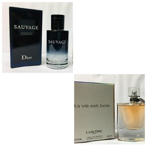 Used Sauvage Dior&Lancome Lavie Est Belle in Dubai, UAE