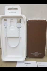 Used ORIGINAL VEGER POWERBANK 25000MAH ⚫ in Dubai, UAE