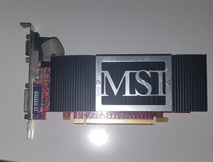 Used MSI N8400GS-TD256H 256MB in Dubai, UAE