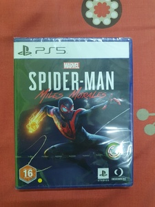 Used PS5 Spider-Man Miles Morales (Sealed) in Dubai, UAE