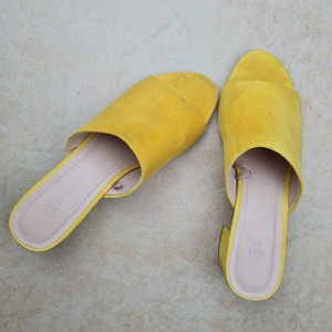 Used H&M yellow sandal eur 37 in Dubai, UAE