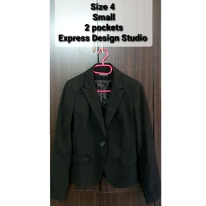 Used *Clearance* Women Black Blazer size S/4 in Dubai, UAE
