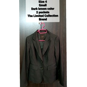 Used *Clearance* Women Blazer dark brown XS/S in Dubai, UAE