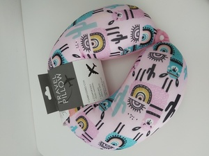 Used Neck pillow pink in Dubai, UAE