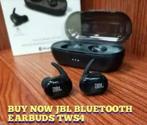 Used Jbl bluetooth Tws 4 Earbuds 🔥 Best buy in Dubai, UAE