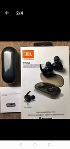 Used GRAB NOW BLACK BRIGHT TWS4 EARBUDS in Dubai, UAE
